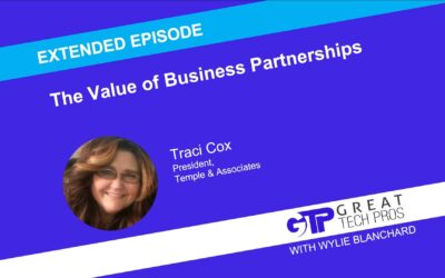 Traci Cox: The Value of Business Partnerships